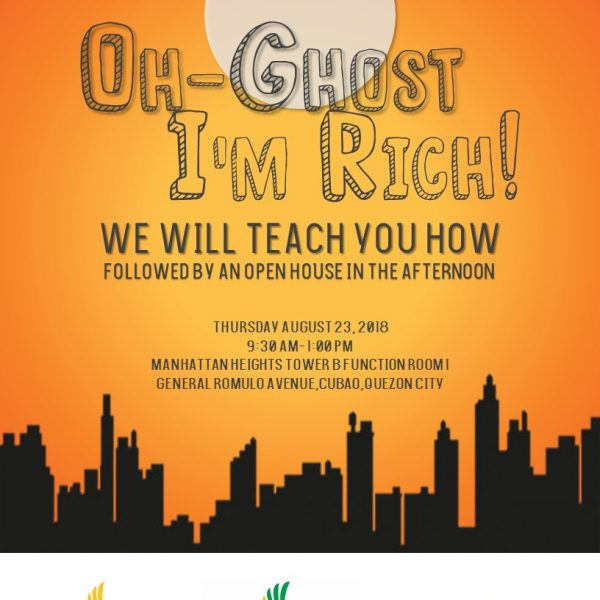 Brokers Orientation: Oh-Ghost I'm Rich!