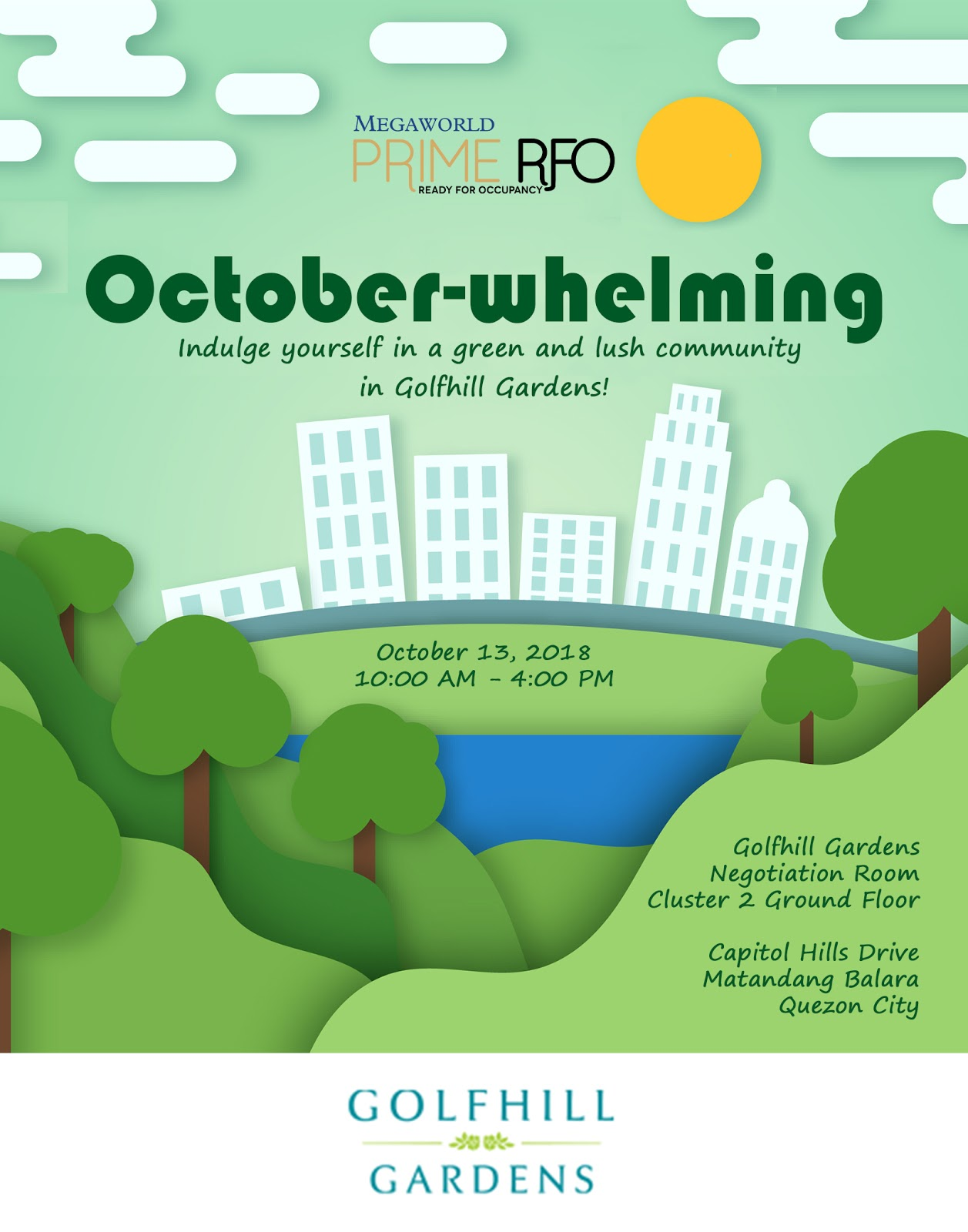 Open House: October-whelming