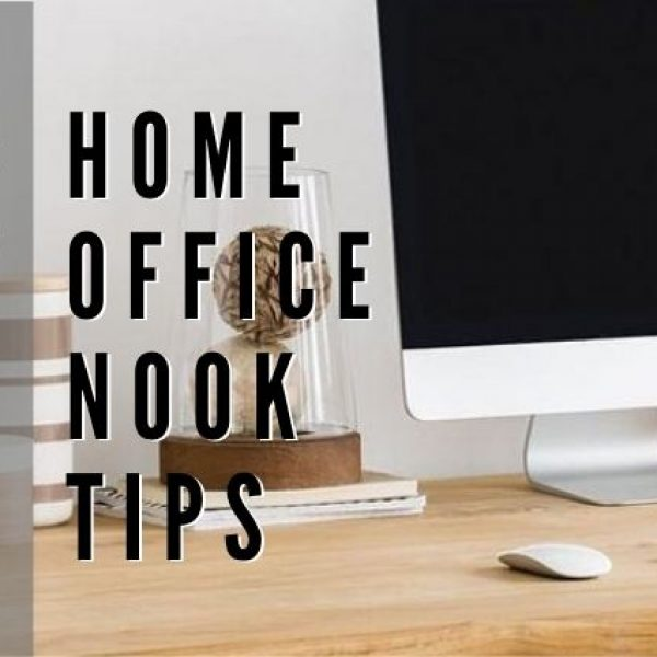 Kick Start Your Productivity With These Home Office Nook Tips